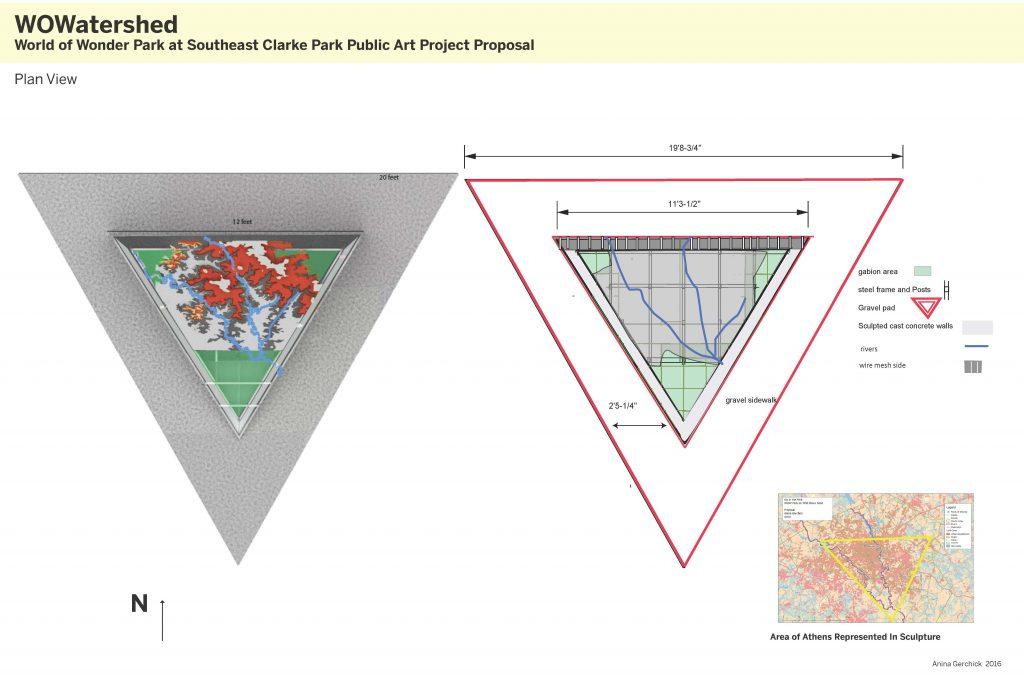 Plan View of Model